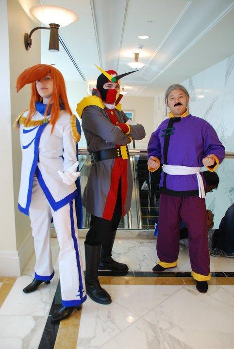 G Gundam - Gundam Fight All Set by EveilleCosplay