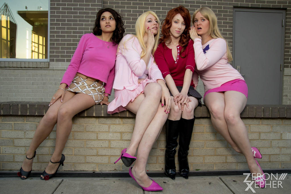 the plastics  mean girlseveillecosplay on deviantart