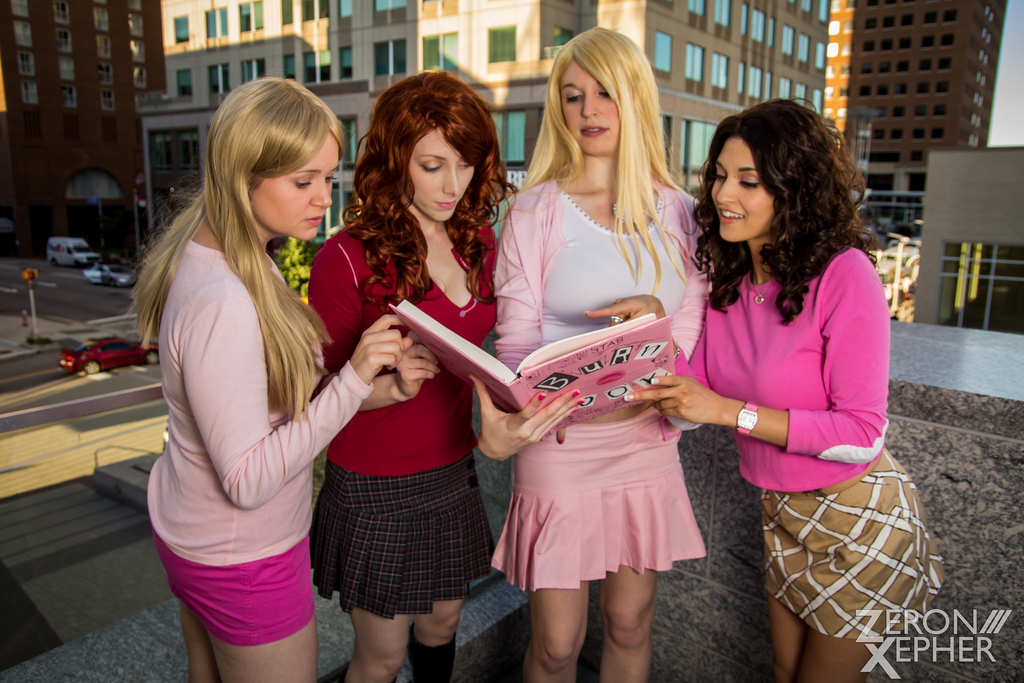 Cold Shiny Hard Plastic - Mean Girls by EveilleCosplay on