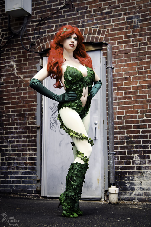 Windswept - Poison Ivy by EveilleCosplay