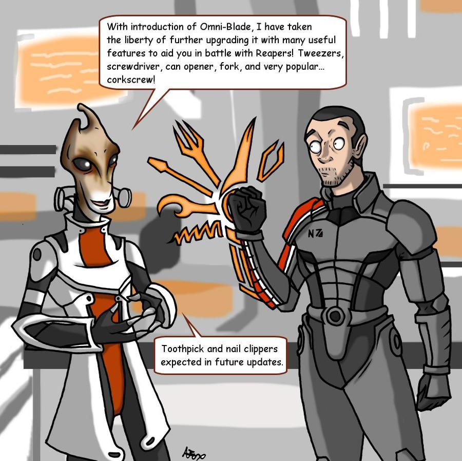 Mass Effect 3 Swiss Omni-Blade by HGuyver