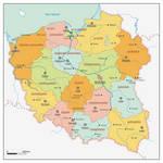 Map of Poland 'B'