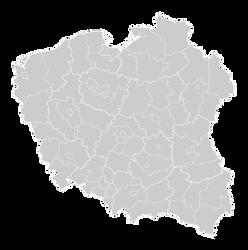 Poland Districts monohromatic by FollowByWhiteRabbit