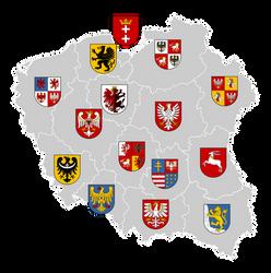Poland Voivodeships Coat of Arms by FollowByWhiteRabbit
