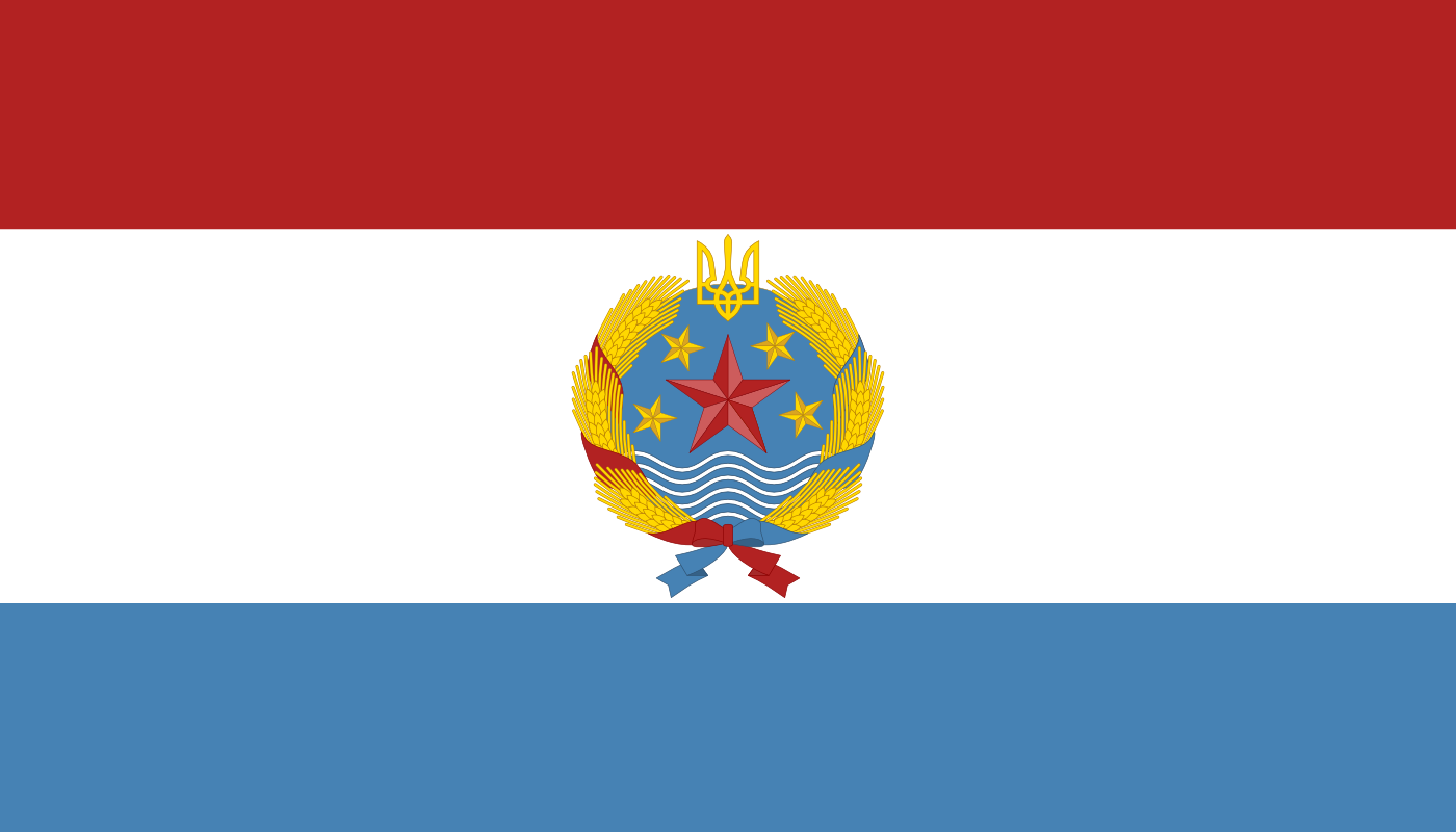 Flag of Ukrainian Republic of Malorussia by FollowByWhiteRabbit