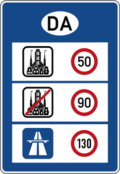 Danzig National Speed Limits