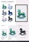 Keinuhevoseni / My Rocking Horse - Art Prints
