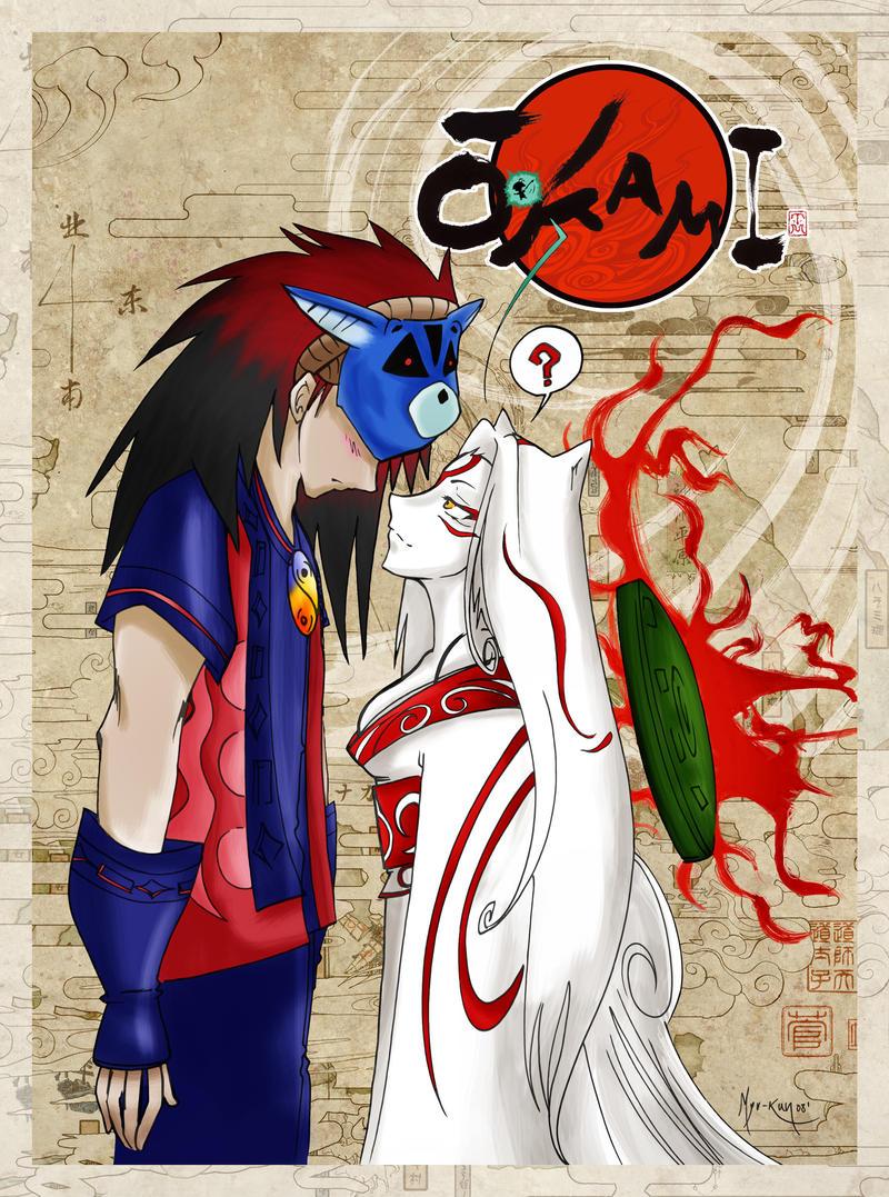 Okami Amaterasu And Oki