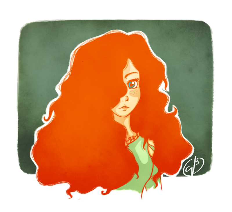 .Merida. by CarlaNatalie