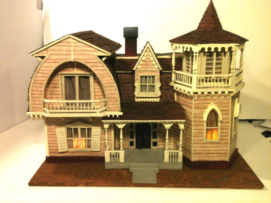 Munsters house model