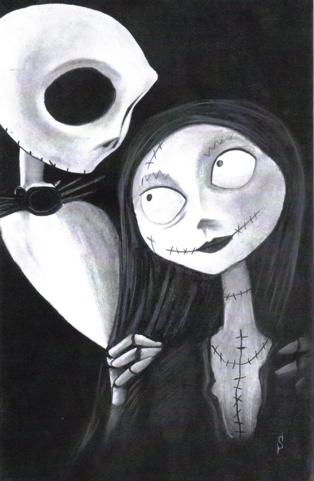 Nightmare Before Christmas Art Style Images & Pictures - Becuo