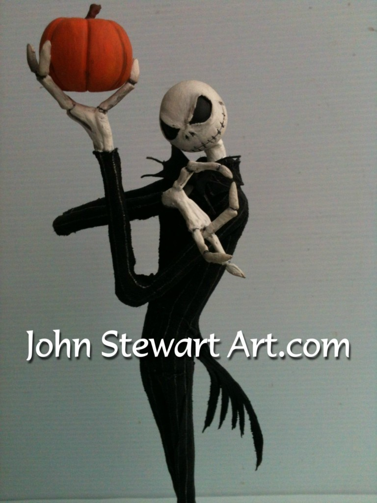 Nightmare before Christmas scratch-made model by johnstewartart on ...