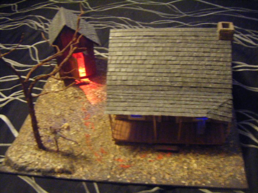 Evil dead handmade cabin by johnstewartart