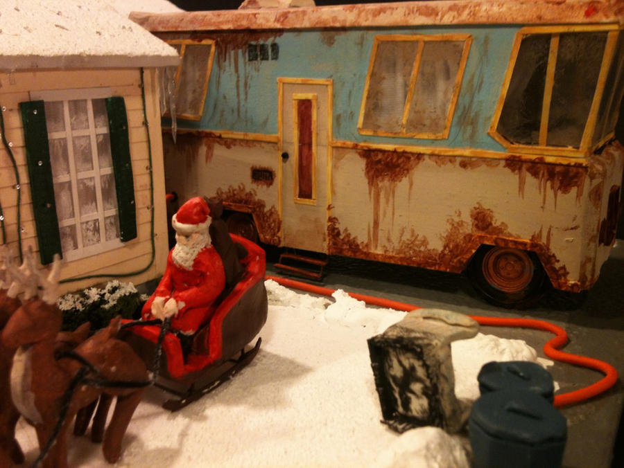 Model In Christmas Vacation.Lampoons Christmas Vacation Scratchmade Model By