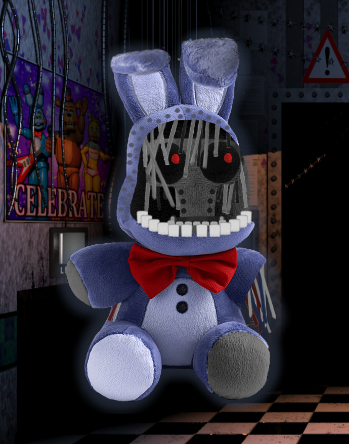 how to draw nightmare plushie