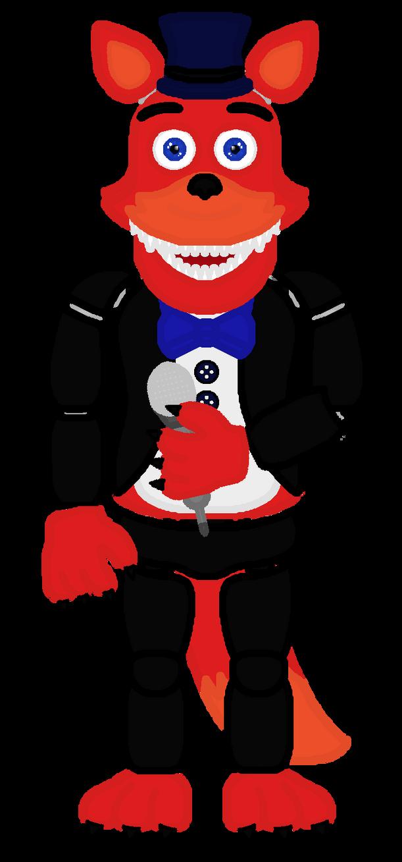 Haxy DaFox (Redesign Version) by FreddyFazbear225