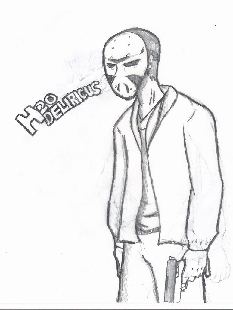 H2o Delerious - Free Coloring Pages H20 Delirious Drawings