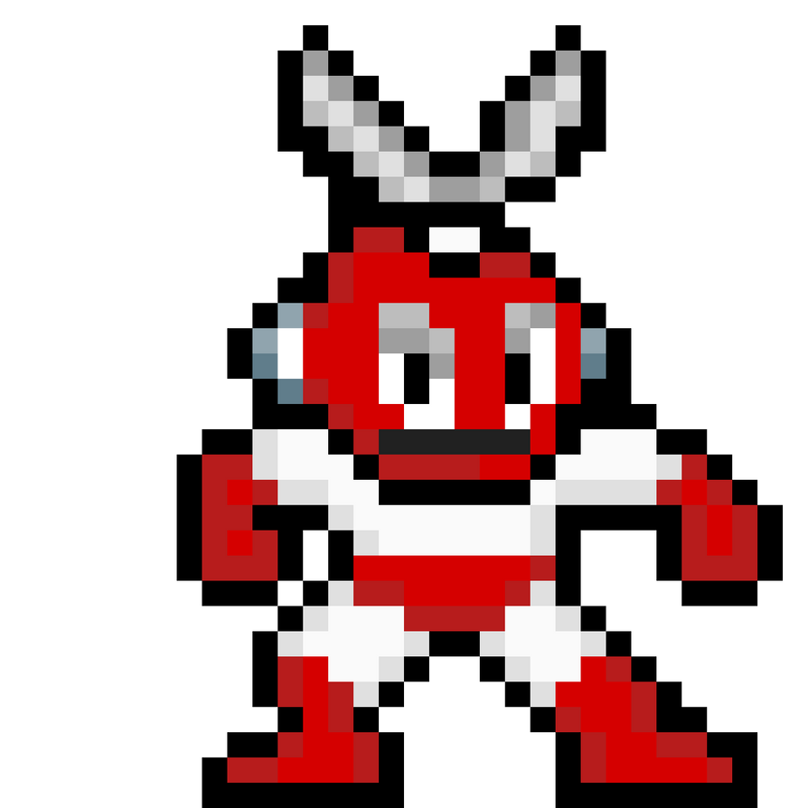 Megaman: Cutman NES remastered by Thebenji64
