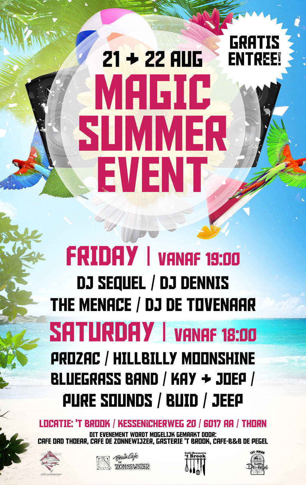 Magic Summer Event Poster By S1h4d0w On Deviantart