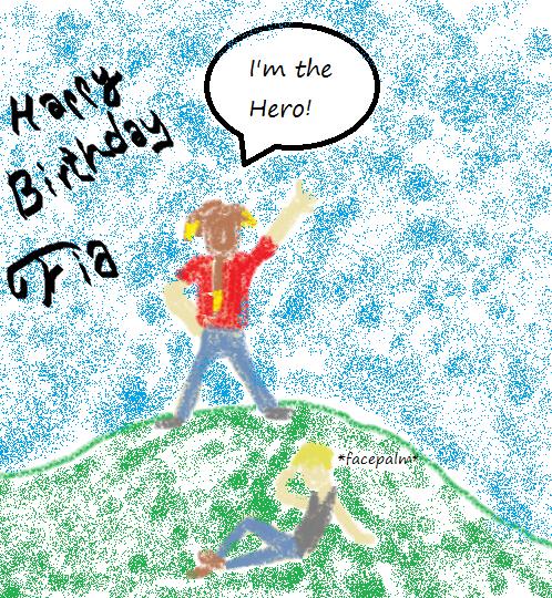 For Ms. Fia Happy Birthday! By Italian-kitten On DeviantArt