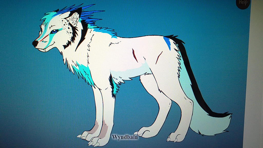 Skullette Wolf Form by blackSTLnightfury