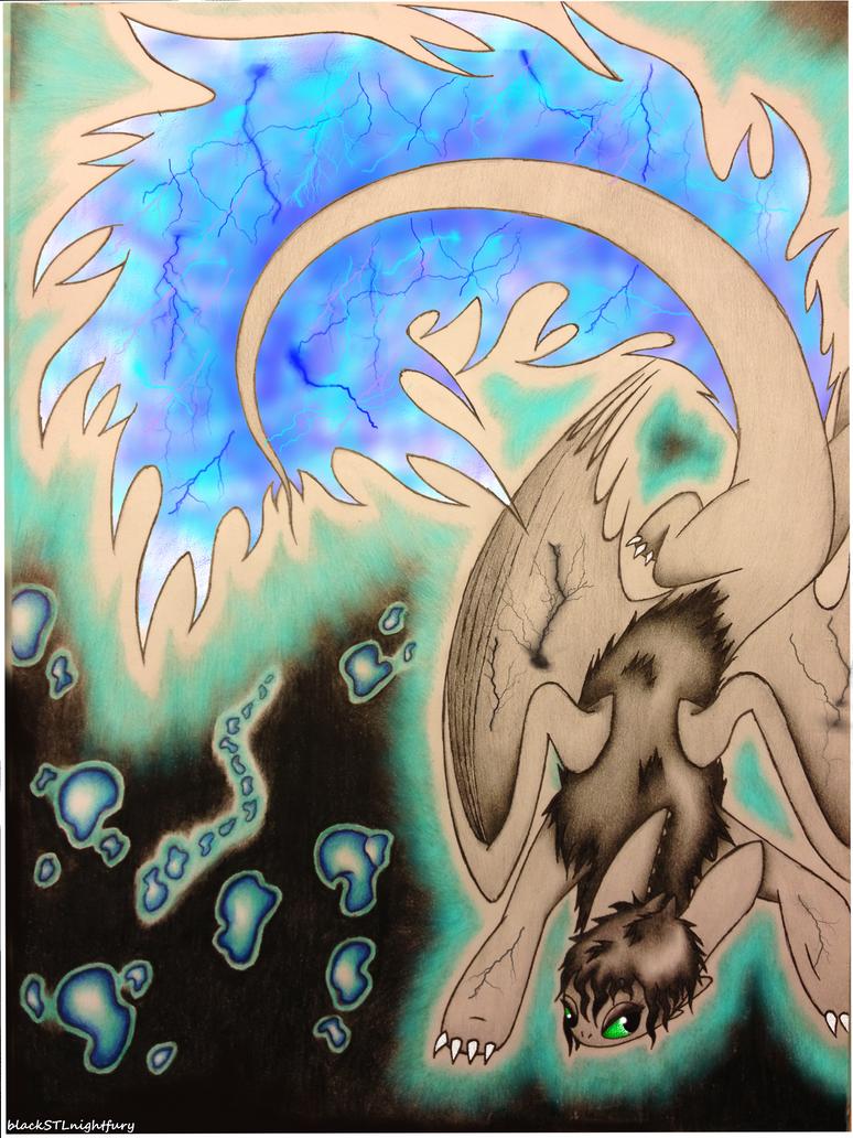 The Blue Spark Inside Me.. by blackSTLnightfury