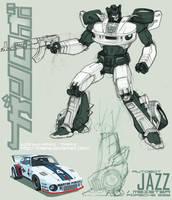 Autobot JAZZ by kiwine