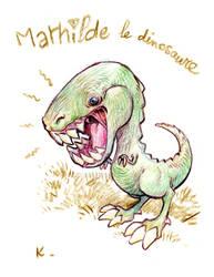 Mathilde the dinosaur