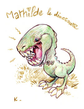 Mathilde the dinosaur