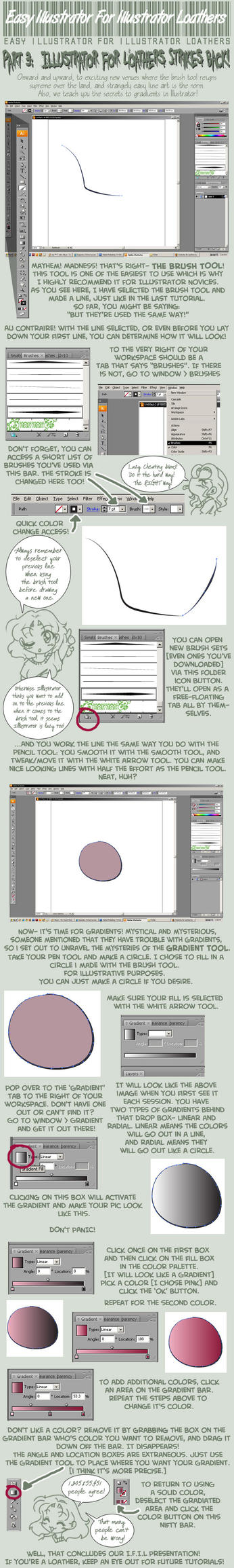 Illustrator for Loathers Pt.3 by yanagi-san