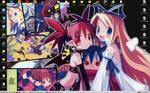 Desktop 17- Disgaea by yanagi-san