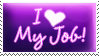 Job Love Stamp by yanagi-san