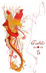 Dragon+Phoenix Table Numbers by yanagi-san