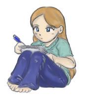 SR- Mel doodle by yanagi-san