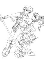 LoD: Lloyd and Meru- ink by yanagi-san