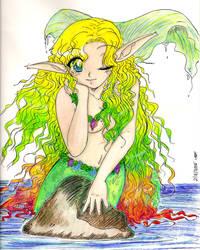 Prismacolor Mermaid by yanagi-san