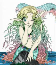 OpenCanvas Mermaid by yanagi-san