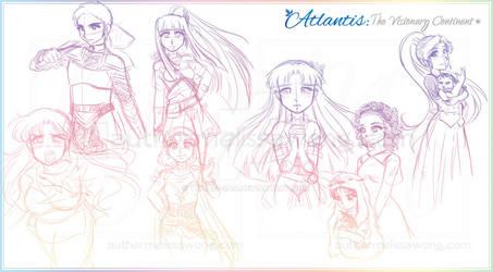Volume 2 Protagonist Color Splash [Sketch]