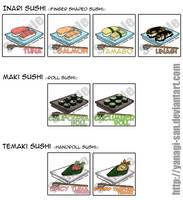 Sushi Art by yanagi-san