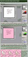 OpenCanvas Coloring Tutorial by yanagi-san