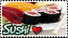 Sushi Love Stamp by yanagi-san