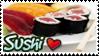 Sushi Love Stamp by yanagi-san