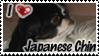 I -heart- Japanese Chin Stamp by yanagi-san