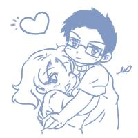 DaD: 12- Yanagi Love Love by yanagi-san