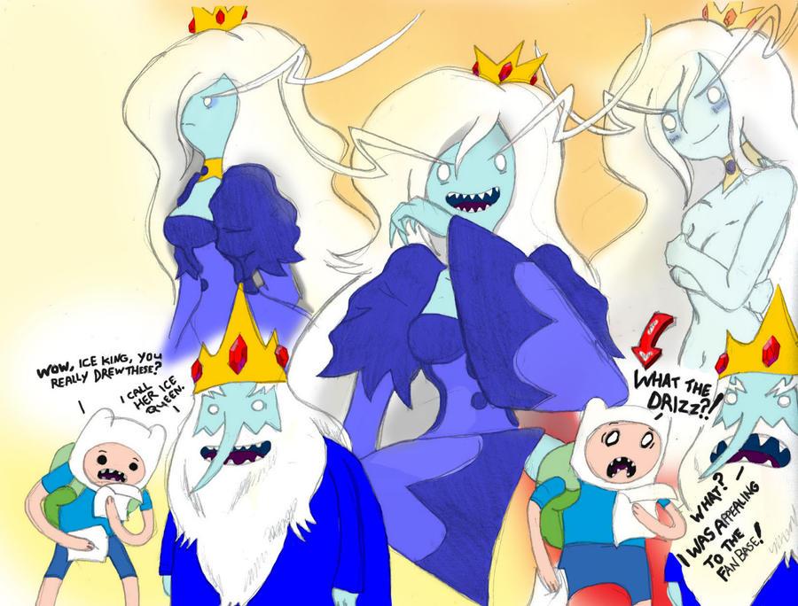 Adventure Time Ice Queen By King Jbaaron
