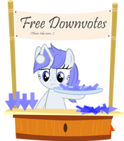 Free Downvotes by PinkiePi314