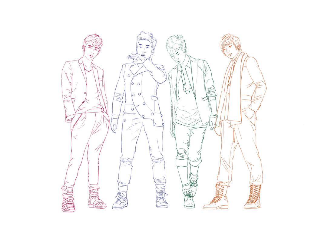 4 boy figure poses by Den28 on DeviantArt