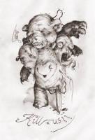 Franken Teddy by MZauner