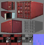 3D Game - Shipping Container