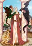 Daenerys Targaryen by lunalove2